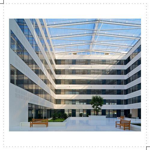 Immeuble de bureaux rungis for Immeuble bureaux hqe